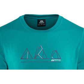 Mountain Equipment M's Triple Peak Tee Tasman Blue